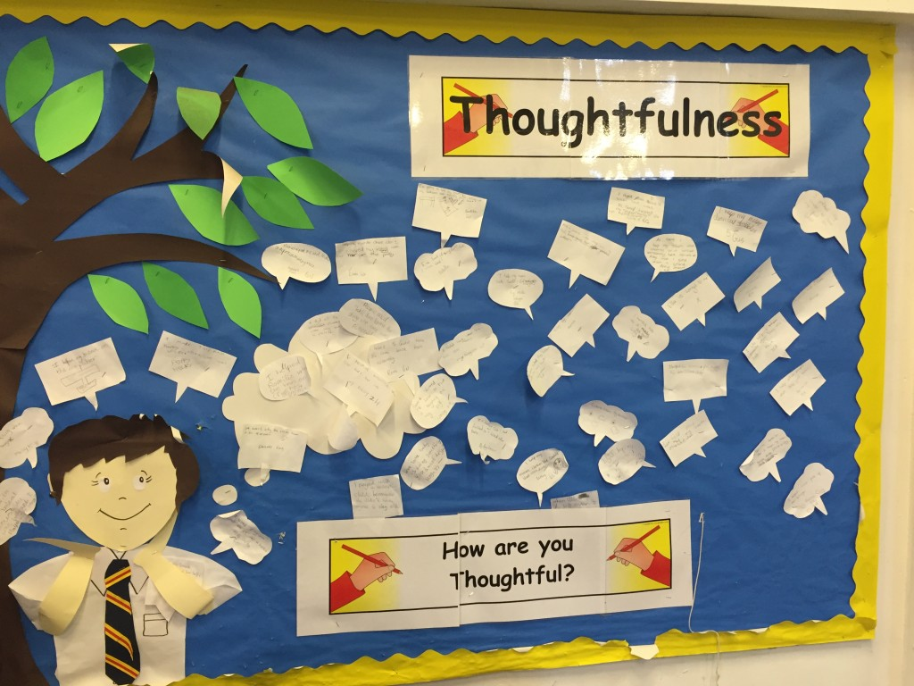 Interactive displays help children focus on individual values.