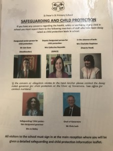 Safeguarding designated persons
